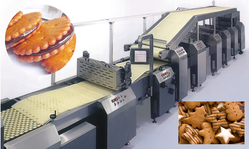 Soft/Hard/sandwiching biscuit machine