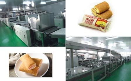 Layer Cake Swiss Roll Production Line